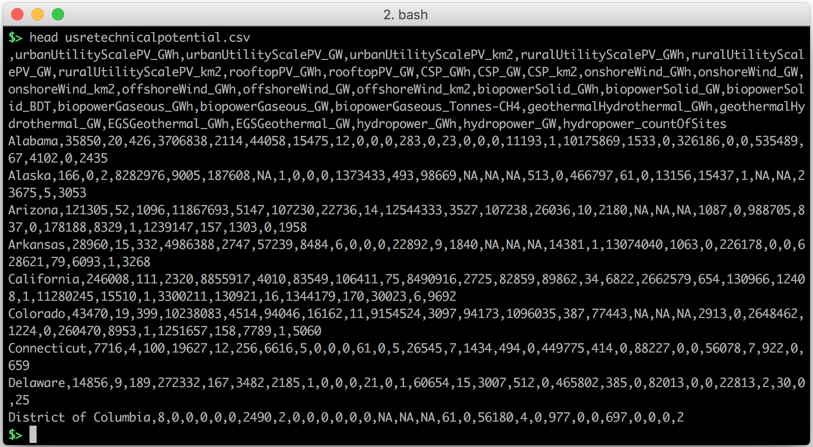 Pretty CSV viewing on the Command Line - Stefaan Lippens inserts